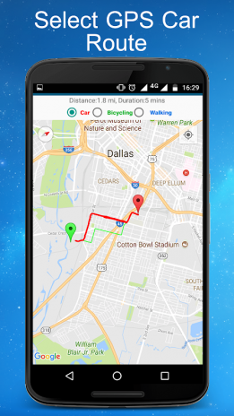 Dallas Real Time Traffic Map.Gps Maps Navigations Directions Live Traffic 1 29 0 Download
