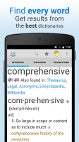 Dictionary Pro Screen