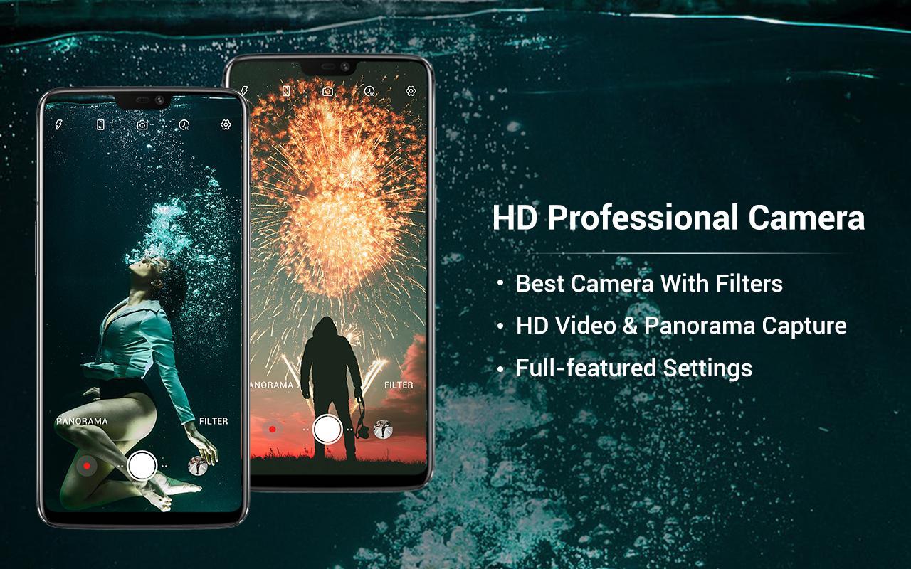 HD Camera - Video, Panorama, Filters, Beauty Cam screenshot 2