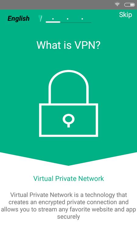 Try2Catch VPN screenshot 1