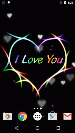 I Love You Live Wallpaper Screenshot 6