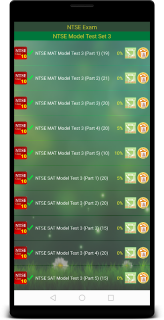 NTSE Exam Class 10 screenshot 2