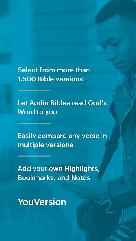 Free YouVersion Bible App + Audio, Daily Verse screenshot 1