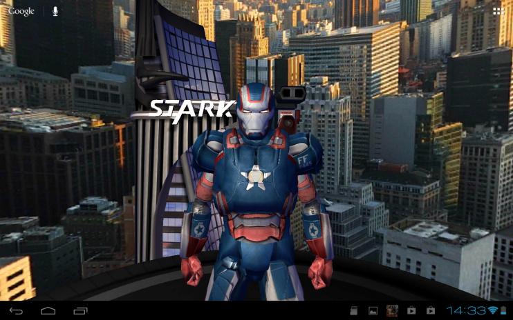 Iron Man 3 Live Wallpaper Screenshot 2