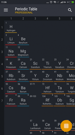 Periodic table 2017 pro 0124 download apk for android aptoide periodic table 2017 pro screenshot 1 urtaz Image collections