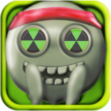 Stickman Run 2 D Radioactive Icon