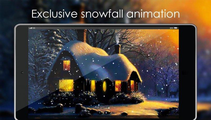 Download 610+ Background Animasi Salju Paling Keren