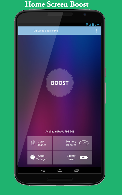 DU Speed Booster Pro screenshot 1