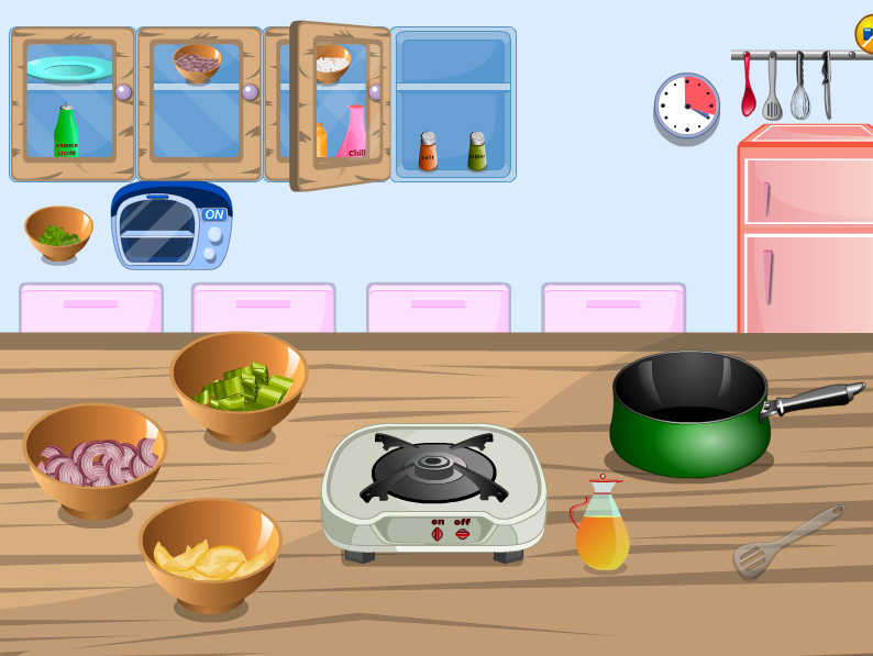 العاب طبخ الحلويات- العاب بنات screenshot 2