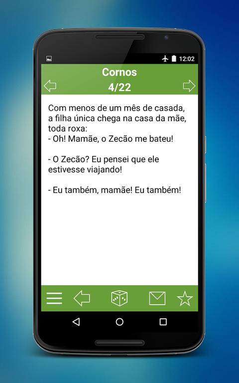 Piadas Brasil screenshot 1