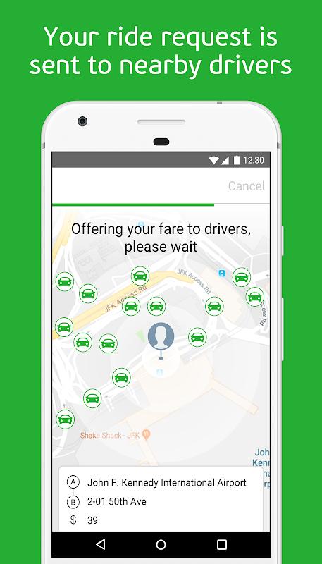 inDriver — Better than a taxi screenshot 2