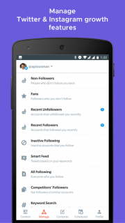 Crowdfire: Social Media Manager screenshot 4