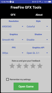 GFX Tool - Free Fire Booster 0 5 Download APK for Android - Aptoide