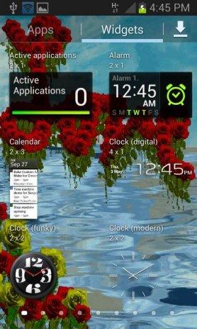 Rose Love Live Wallpaper Screenshot 2