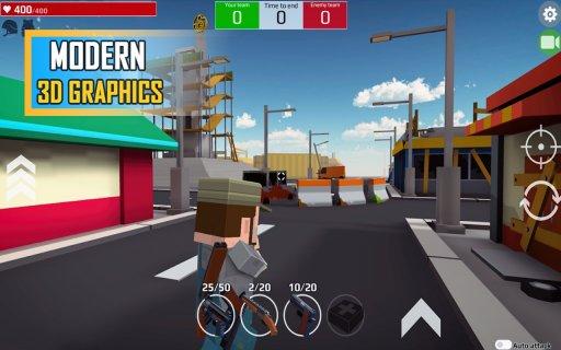 Pixel Grand Battle 3D screenshot 5