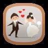 ไอคอน Wife and Husband Free Live Wallpaper