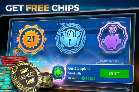 Blackjack 21 - Online Casino screenshot 3