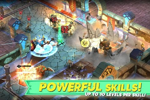 Dungeon Legends - PvP Action MMO RPG Co-op Games screenshot 3