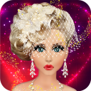 Barbie Bridal Makeup & Dress