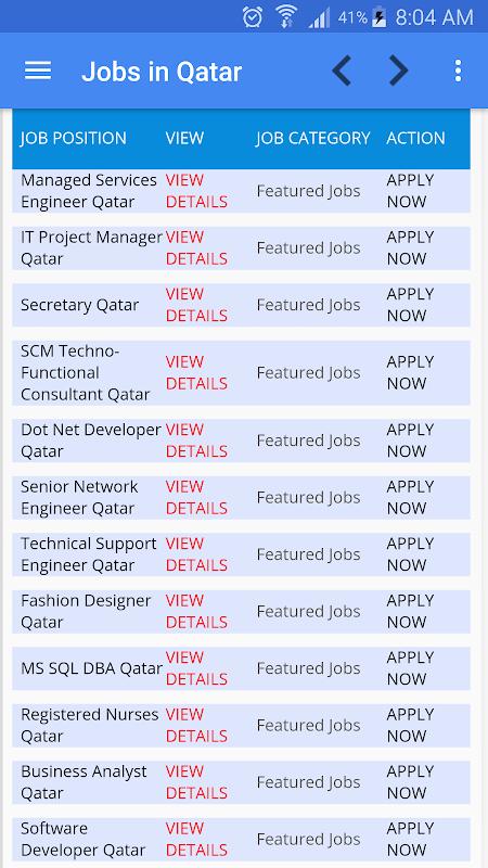 Job Vacancies In Qatar 1 3 Download Android Apk Aptoide
