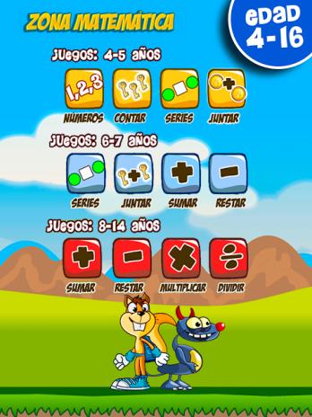Juegos Educativos Para Ninos Sumas Restas Tablas 8 2 Descargar Apk