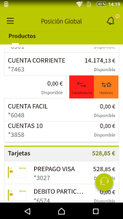 Bankia screenshot 3