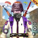 Squad Survival Free-Fire Game Battleground Shooter