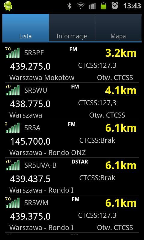 Repeater Radar screenshot 1