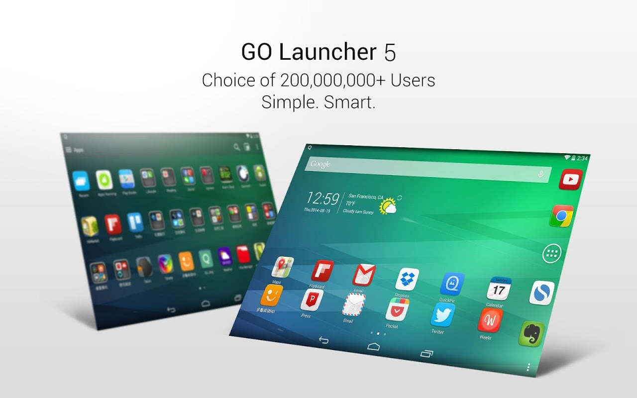 GO Launcher2016 Tema Wallpaper screenshot 1