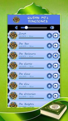 Quran Mp3 Ringtones 1 3 Download APK for Android - Aptoide