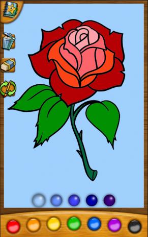Boyama Oyunu çiçekler 107 Android Aptoide Için Apk Indir