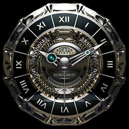 KOMPONIST Luxury Clock Widget