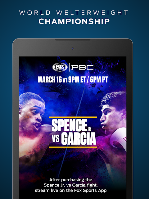 FOX Sports: Live Streaming, Scores & News screenshot 8