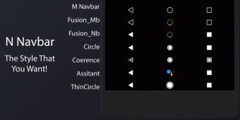 N Navbar - Substratum Screenshot