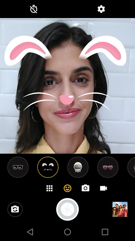 Moto Face Filters screenshot 1