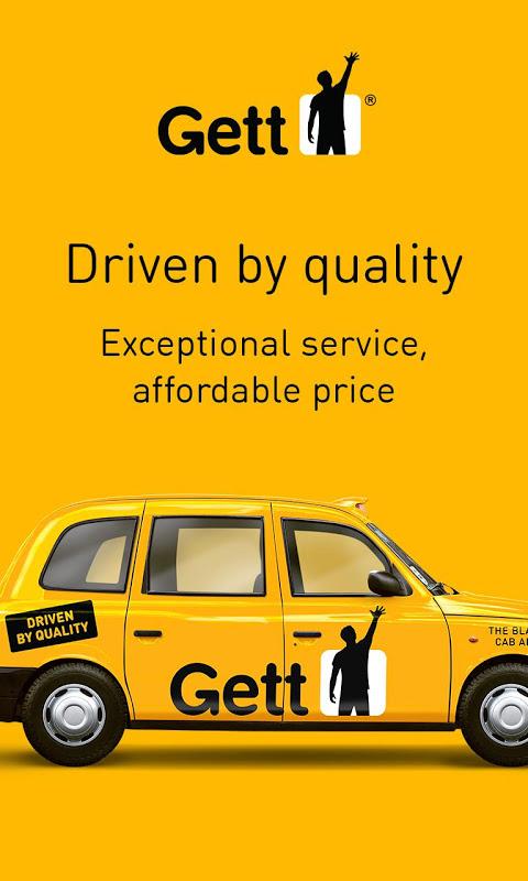 Gett - The Best Black Cabs screenshot 2