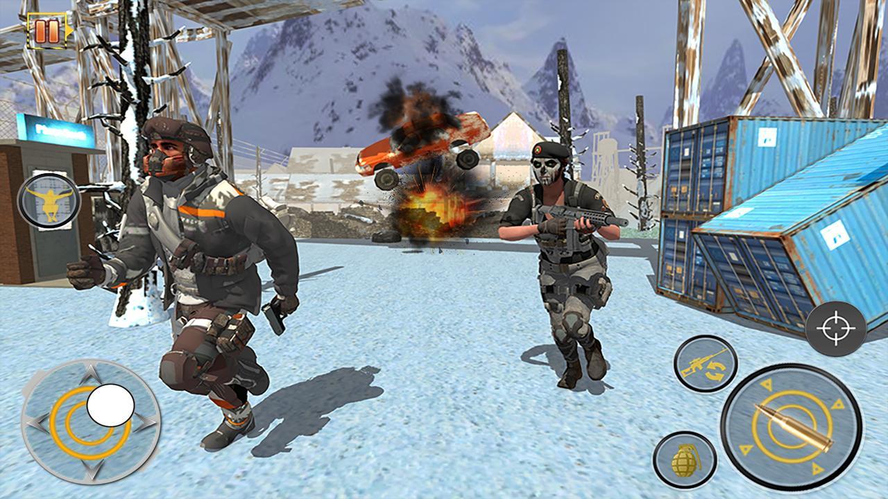 Free Fire Shooting Battleground: Gun Shooting Game screenshot 1