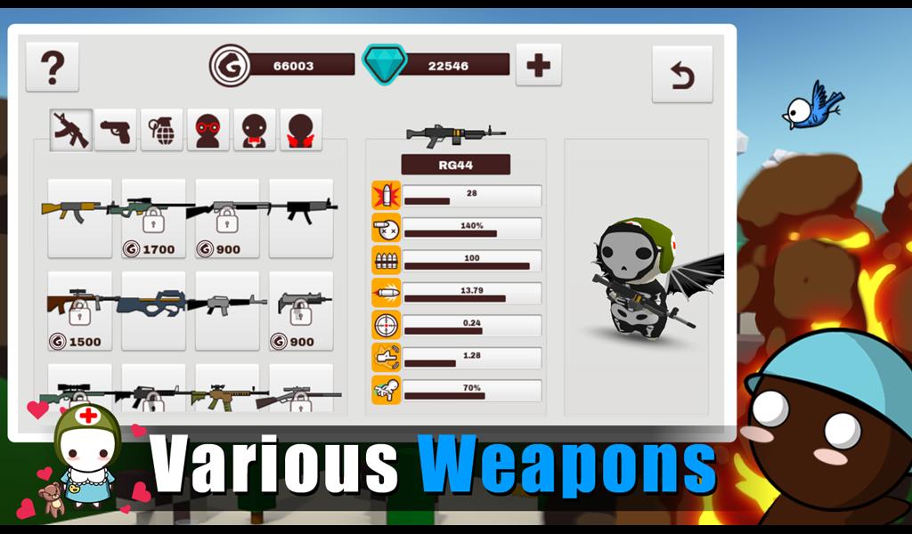 MilkChoco - Online FPS screenshot 17
