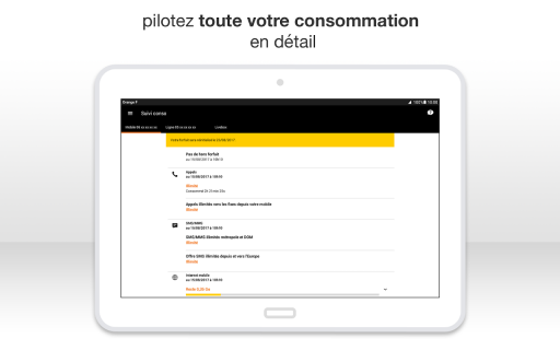 Orange et moi France screenshot 12