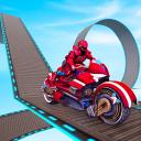 Impossible Bike Stunts Racing – Robot Bike Games