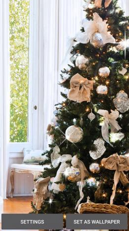 Weihnachtsbaum Hintergrund 3D 1.0 Laden Sie APK für Android herunter ...