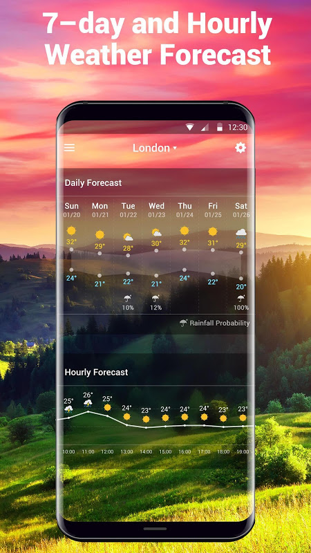 Local Weather Report Widget screenshot 2