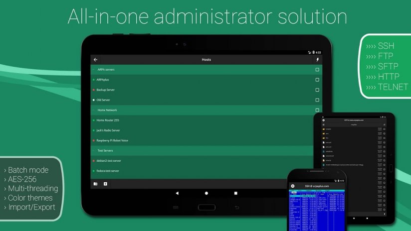 Admin Hands: SSH/FTP/SFTP/TLN 3 1 4 Download APK for Android - Aptoide