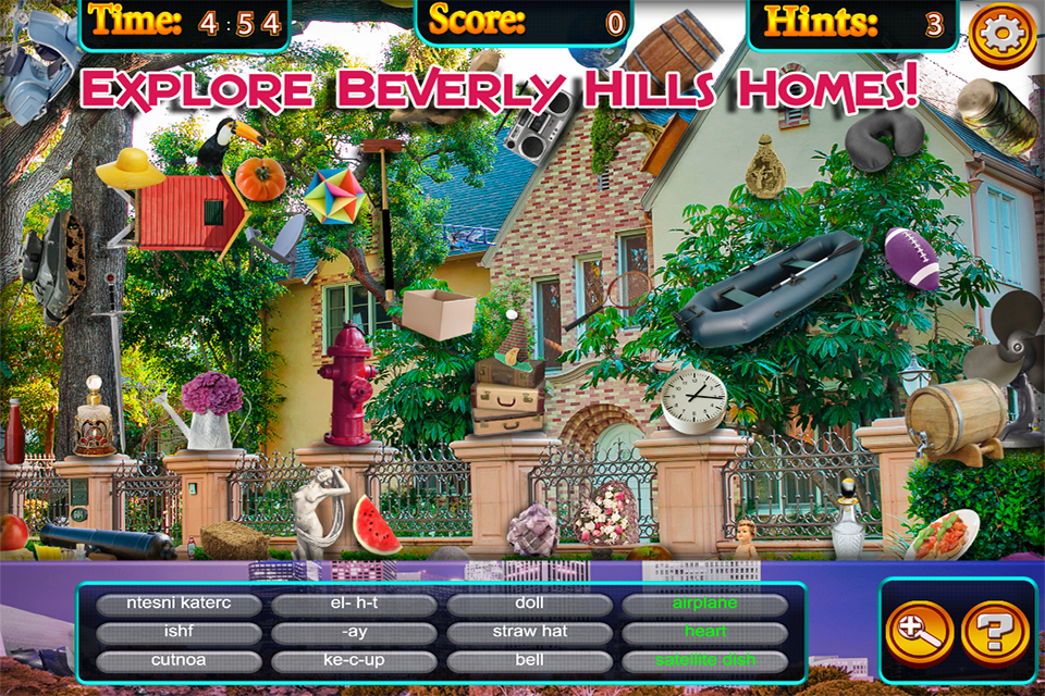 Hidden Objects - Beverly Hills | Download APK for Android - Aptoide