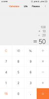 Mi Calculator Screen