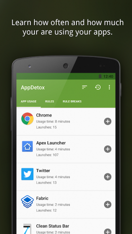 تحميل APK لأندرويد - آبتويد AppDetox - App Blocker for