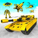Flying Robot Crime City: War Robot Games