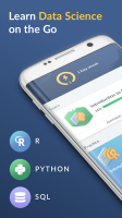 DataCamp - Learn R, Python & SQL Screen