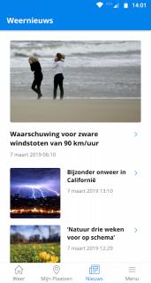 Weeronline: weer en regenradar screenshot 8