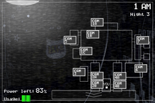 Five Nights at Freddy's Demo Screenshot